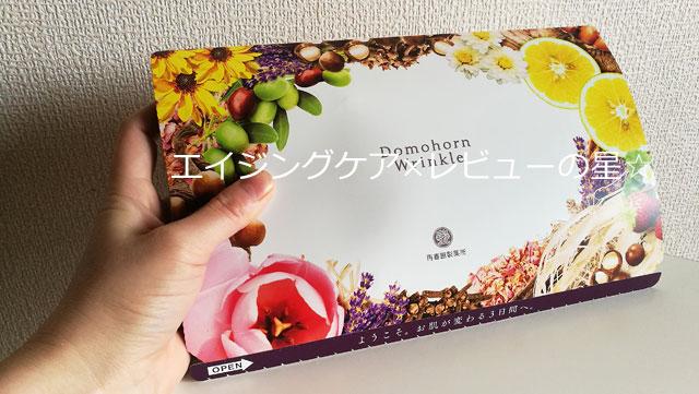ドモホルンリンクル【3日間無料お試しセット】の同封物は?