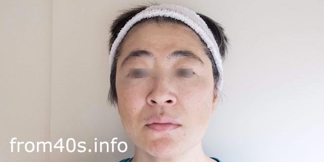 ▲【カバー後】アクセーヌ スキンカラーコントロール【02:明るめ】