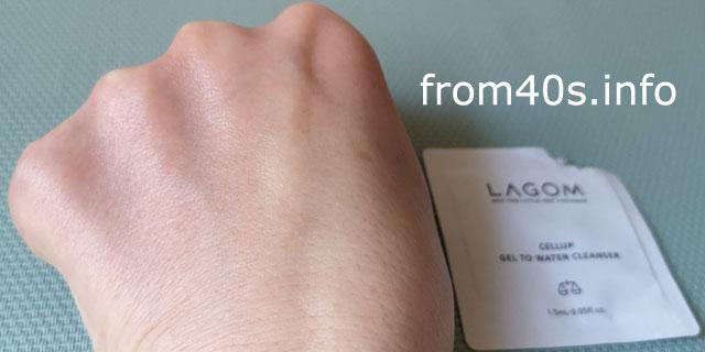 ラゴム(LAGOM)ジェルトゥウォータークレンザー(朝用洗顔料)の口コミ